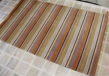 RST13766 STRIPED HAND CRAFTED TIBETAN MEDITATION RUG 3' X 5' MADE IN NEPAL