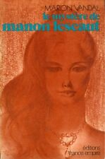 LE MYSTÈRE DE MANON LESCAULT PAR MARION DUVAL - 1979