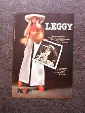 K679-Advertising Pubblicità-1974- LEGGY , POLISTIL GIOCATTOLI