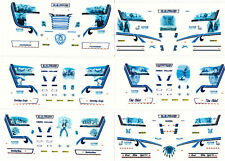 "Decal Set 6x SZM "" HOVOTRANS "" 1/87 Eigenbau"