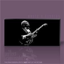 Bb king blues guitar legends photo emblématique toile pop art imprimé art williams