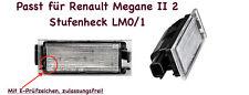 2x TOP LED SMD Kennzeichenbeleuchtung Renault Megane II 2 Stufenheck LM0/1 (N06)