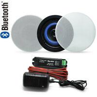 160 Watts 2-Way bluetooth Bathroom ceiling Home speakers(A pair)