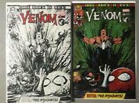 VENOM #6 TYLER KIRKHAM B&W AND COLOR EXCLUSIVE VARIANT 2017 SET!