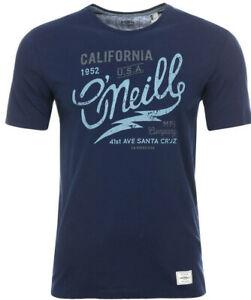 O'Neill LM LOGO TYPE T-SHIRT Herren T-Shirt Freizeitshirt blau