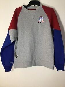 New England Patriots Mitchell & Ness Trading Block Crew Sweatshirt  Medium