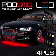 Underbody Rock RED Accent LED Light Under Car Neon Glow Kit for Subaru Impreza