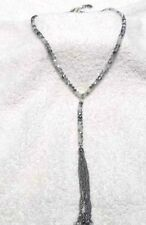 Jessica Simpson Silver and Gray Necklace