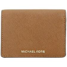 Michael Kors Jet Set Travel Brown Leather Billfold Ladies Wallet 32F6GTVF6L