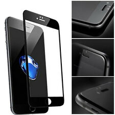 3D Fully Curved Tempered Glass Screen Protector & Carbon For iPhone 7Plus Black