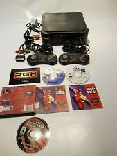 PANASONIC 3DO FZ-1 REAL CONSOLE + 2 PADS TESTED WORKING + PEBBLE, FIFA, ROAD