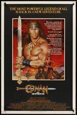CONAN THE DESTROYER original film / movie poster