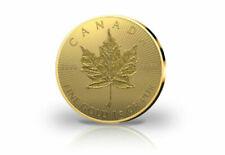 Monedas de oro de hoja de arce (canadá)
