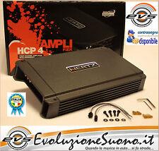 Hertz Hcp4 Amplificatore 4 Canali 760W con Crossover Nuovo + Cappellino Omaggio