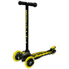 Crazy™ JOEY Construction Kids Boys Girls Push 3 Wheel Scooter with Pads