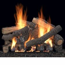 """18"""" Ponderosa Vent Free Gas Logs with Variable Control - NG"""