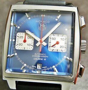 Tag Heuer Monaco CAW2111-0 Chronograph Automatic Wrist Watch