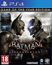 Batman: Arkham Knight - GOTY Edition PS4 (Sony PlayStation 4, 2015) Brand New