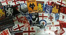 30x casuale Inglese Squadra di Calcio adesivi-diversi club-Calcio Adesivo Set