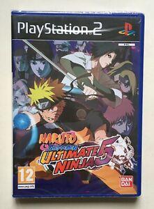 Naruto Shippuden Ultimate Ninja 5 PlayStation 2 Factory Sealed Brand New Rare