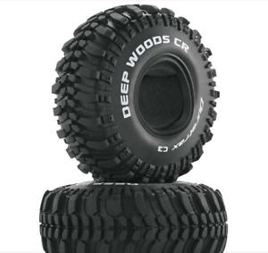 "Duratrax Deep Woods CR 1.9"" Crawler Tires C3 DTXC4017"