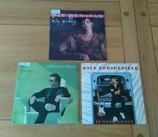"""AOR Job Lot 3x UK 7"""" Pat Benatar Nils Lofgren Rick Springfield Classic Soft Rock"""