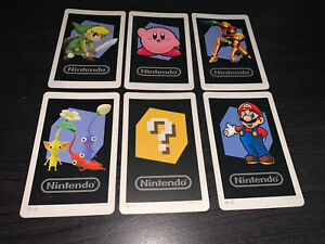 NINTENDO 3DS AUGMENTED REALITY CARDS AR CARDS  FULL SET