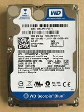 """WD Western Digital WD5000BPVT-75HXZT1 Hard Drive 500GB 2.5"""" HDD 0P4HFC HBOTJHN"""