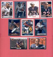 2011-2015 Panini MATT FORTE Chicago Bears Sticker Lot + Foils