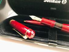 NOS Pelikan M250 EF K250 old style Set   rot burgundy bordeaux   W Germany