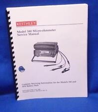 Keithley Model 580 Micro Ohmmeter Service Manual