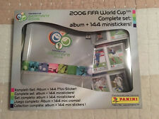 Panini 2006 Germany WM WC World Cup Complete Mini 144 Sticker Set + Album SEALED
