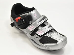 Specialized Women's Torch Road Shoe EU 36 US 6 Silver/Black/Pink Brand New