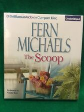 FERN MICHAELS, THE SCOOP, CD, UNABRIDGED, NEW STILL IN SHRINKWRAP