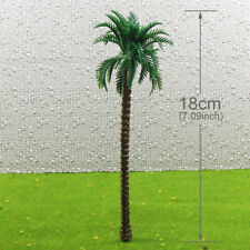 TDT18 40pcs Layout Model Train Palm Trees O Scale 18cm