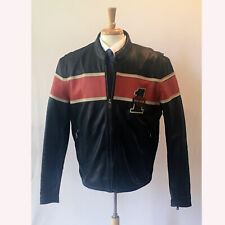 Harley Davidson | #1  Racing Stripe Victory Lane Motorcycle Jacket – Size L