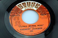 Earnest Jackson: Funky Black Man / Why Can't I Love Somebody   [new Unplayed ]