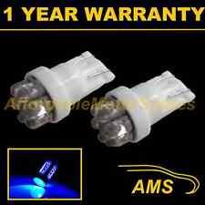 2X W5W T10 501 XENON BLUE 7 DOME LED INTERIOR COURTESY LIGHT BULBS HID IL100401