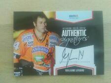 EBEL 2012/13 Authentic Signatures Guillaume Lefebvre Playercards Graz 99ers