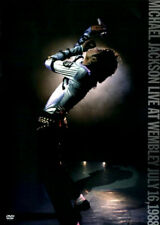 Live at Wembley, July 16, 1988 [Video] by Michael Jackson (DVD, Feb-2016, Epic)