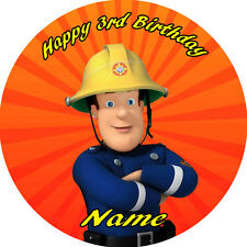 FIREMAN SAM  EDIBLE  ICING  CAKE TOPPER PARTY IMAGE FROSTING SHEET