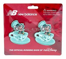 RunDisney New Balance Mad Tea Party Running Shoe MAD HATTER TEACUPS Shoe Clips