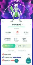 pokemon go Mewtwo shiny DOUBLE LEGACY MOVE (psystrike/shadow ball) (READ BIO)