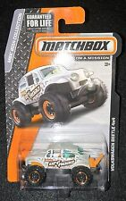 2015 Matchbox  Volkswagen Beetle 4X4   Multiples Available   MB-1