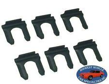 55-90 GM NOSR Disc Drum Brakes Rubber Brake Line Flex Hose Retaining Clips 6p CZ