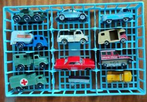 Matchbox Lesney Regulars group x 12 Snow Trac VW Beetle Mechanical Horse