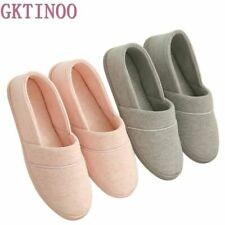 Women's Indoor Slippers With Soft Outsole Homes Cotton-padded Materials Footwear
