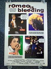 ROMEO IS BLEEDING 1990s Original OS Movie Poster Gary Oldman, Lena Olin