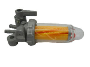 Diesel Fuel Valve Tap Petcock with Fuel Filter Bowl + Free Fuel Filter