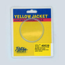 Yellow Jacket 49039 Glass Crystal for Brass Gauges